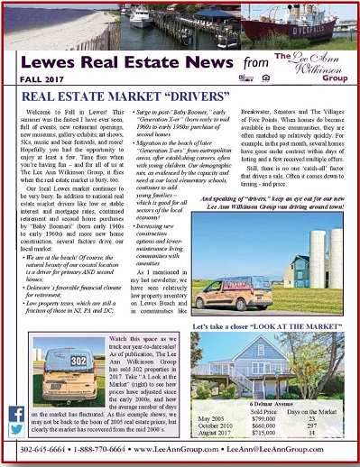 Just In: Fall Newsletter - with Updates Already!