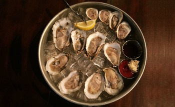 Enticing oysters, courtesy of Coastal Cuisine