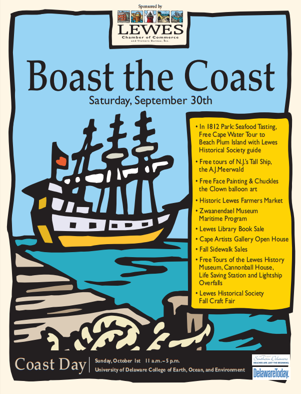 2017 Boast the Coast Poster 0